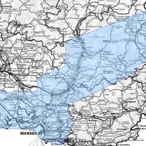 DAB+ multiplex Marseille étendu, canal 5B