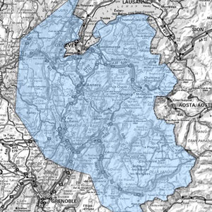 DAB+ multiplex Annecy étendu, canal 7C