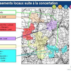 DAB+ multiplex Lyon local, canal 11B et 5B