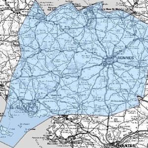 DAB+ multiplex Rennes étendu, canal 10A