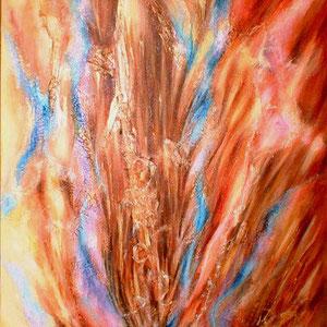 Twins - peinture contemporaine de Sylvie Boulet-disponible