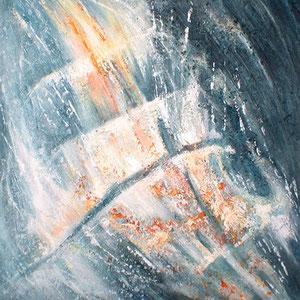 Marine - peinture contemporaine de Sylvie Boulet-disponible