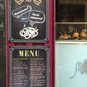 Cartelera en panel sandwich para La Martina Bar Madrid