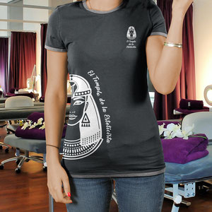 """Diseño de camiseta para """"El templo de la Esteticista"""""""