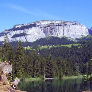 Flimserstein und Crestasee