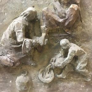Jesus werden die Füsse gewaschen 3