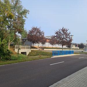 Neue Brücke Eggersdorfer Str.