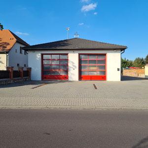 Neues Feuerwehrauto Pretzien