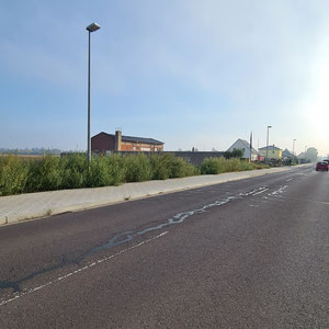 Neuer Radweg Paul-Illhardt Str.