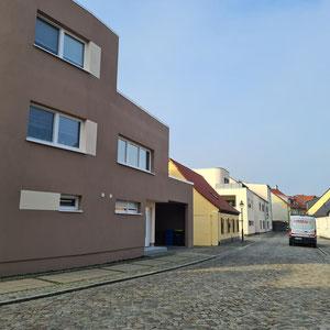 Neue Wohngebäude Salzelmen ehemals Leuchtenbau