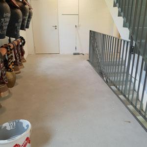 Malerarbeiten Neubau Treppen