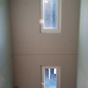 Betonlasur-Treppenhaus-Neubau Uttigen
