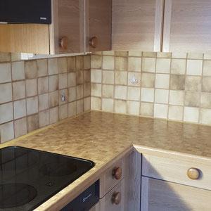 Küchenplättli wie neu durch Malerarbeit
