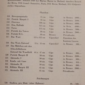Franco Annoni / Preisliste