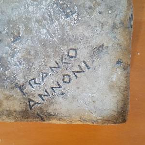 Franco Annoni Signatur