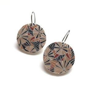 large disk earrings