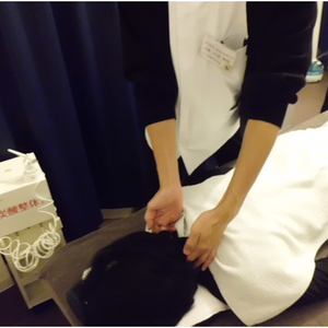 炭酸整体 頚椎2番の検査