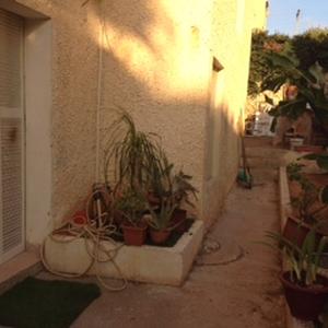 Jardinet privé