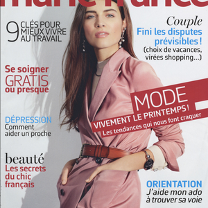 MARIE FRANCE MAGAZINE < FLO COLLECTION < FEBRUARY 2016