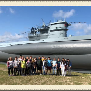2018 Klassenfahrt der 7a nach Kiel