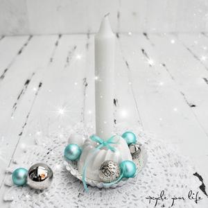 """zauberschöne weihnachtsdeko in """"eisblau""""..."""