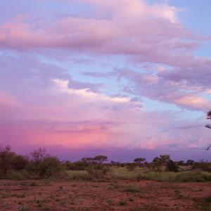 Abendhimmel Südafrika