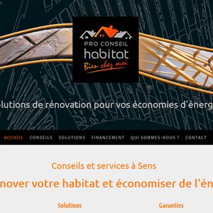 Pro Conseil Habitat, travaux de rénovation et économies d'énergie dans l'Yonne