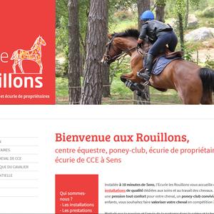 Ecurie les Rouillons, écurie de CCE, centre équestre et pension pour chevaux à Sens