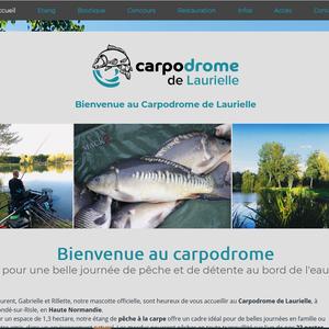 Carpodrome de Laurielle, étang de pêche en Haute-Normandie