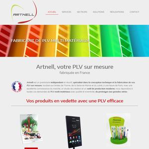 Artnell, fabricant français de PLV multi matériaux