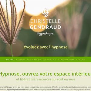 Site web de Christelle Gendraud, hypnologue à Sens