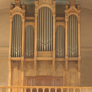 La tribune de l'orgue