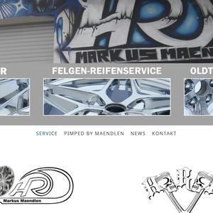 Konzeption, Webdesign und technische Umsetzung l www.felgen-reifenservice.de