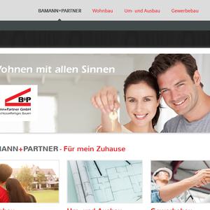 Konzeption, Webdesign und technische Umsetzung l www.bamannundpartner.de