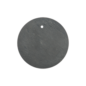 Affari of Sweden Plate Slate Round