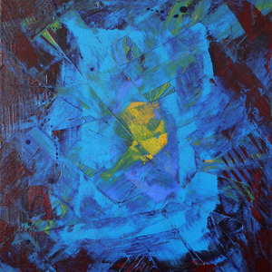 Verborgener Schatz, 40x60, 2006, Acryl auf Leinwand