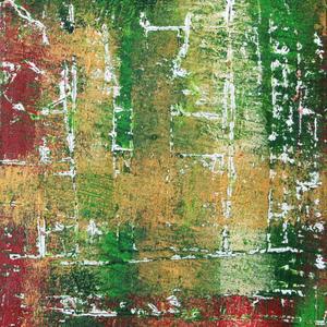 Finnischer Birkenwald, Teil 1/3, 50x60, 2004, Acryl auf Leinwand