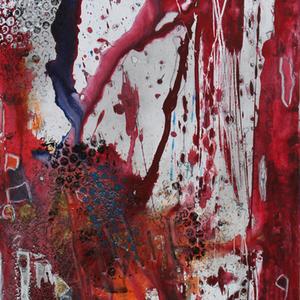 das Finale, 40x80, 2012, Acryl auf Leinwand
