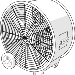Circulador de aire portatil MAC-WK