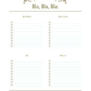 Die BlaBlaBla-Blöcke. Keiner hat je bemerkt, dass die Anzahl der Buchstaben komplett denen der To-Don't-Listen entspricht!