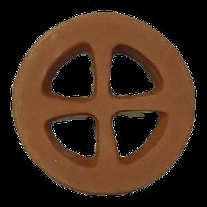 Grille aération croix diamètre 15.5