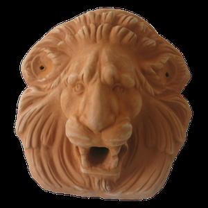 Tête de lion diamètre 21 cm
