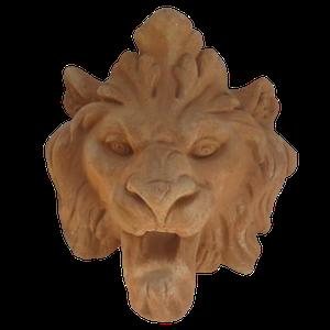 Tête de lion longue diamètre 16 cm