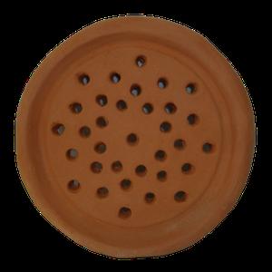Grille aération à trous diamètre 16.5
