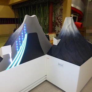 富士山断面模型 ジャパネットたかた