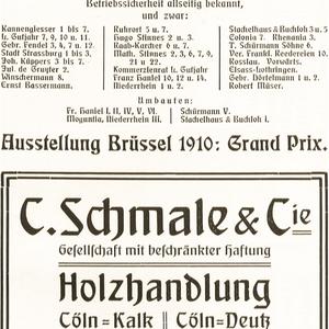 C. Schmale & Cie. Holzhandlung