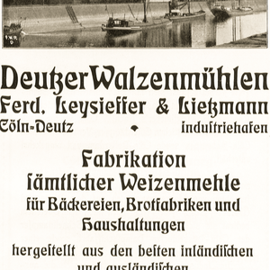 Deutzer Walzenmühle Ferd. Leysieffer & Lietzmann