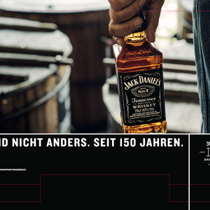 "Display LEH ""150 Jahre Jack Daniel's"", Kunde: Brown-Forman Deutschland"