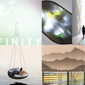 "LVMH CLOUDY BAY > ""infinity"". planche inspiration pour flagship aéroport"