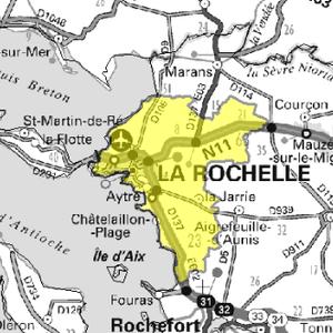 DAB+ multiplex La Rochelle local, canal 10C
